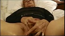 Granny Masturbating And Orgasming Close Up