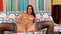 Wanton MILF Sofie Marie Fingers Her Slot and Th...