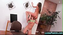 Hot Teen Lez (Abella Danger & Kimmy Granger) Is Punish With Dildos By Mean Lesbo video-01