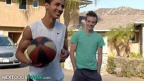 NextDoorTwink - Scott Finn Helps Young Black Teen With His Form