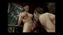 Kinky guy sucking and fucked by tranny cock
