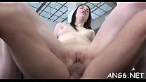 Stud is driving chick insane with his passionate licking