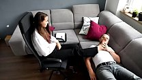 THE Best Office Foot fetish Femdom - watch more on xfetish.net thumbnail