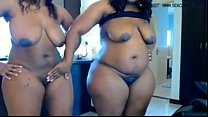 Two ebony bbw masturbates on cam www.hotcamgirl...