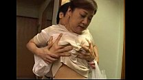 Japanese step mom milf with big tits getting pleasured Preview
