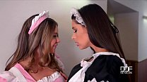 2 Horny French Maids Caughty By Milf Boss Fucking