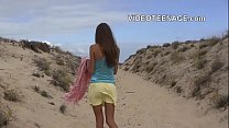real teen nude at beach preview image