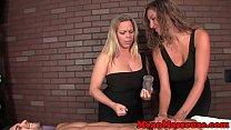 Busty masseuses humiliating their client Vorschaubild
