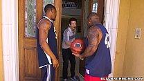 Horny MILF takes on 2 basketball studs on BlackOnMoms (xa15362) - 9Club.Top