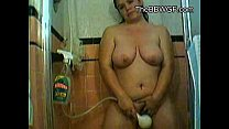 Xnxxwwwcom - my fat chubby teen gf taking a shower thumbnail