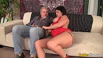 Mature woman Coralyn Jewel takes fat cock