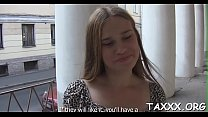 Enticing legal age teenager in reality porn
