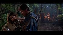 Johanna Marlowe nude/sex scene from Bad Moon (1996) werewolf horror movie HD