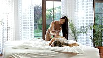 Nubile Films - Pussy grinding lesbians cum for you preview image