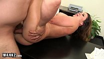 Wet Horny MILF Babe Gets Fucked On Her Desk! preview image