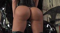 11484 Aletta Ocean - Black Leather Double Pleasure - alettAOceanLive preview