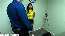 Screw the Cops - Latina bad girl gives a cop a blowjob - 9Club.Top