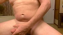 Jerking off, licking cum and fucking my ass with a fantasy climax's Thumb