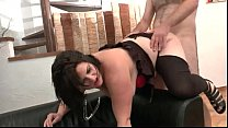 BBW French slut hard double penetrated Thumbnail