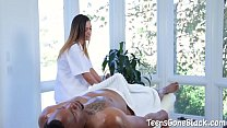 Jaye Summers Enthusiastically Tries First Huge ... Thumbnail