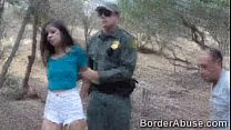 Teen immigrant crossed the border to fuck the b...'s Thumb