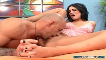 Seductive pedicured babe gives blow n footjob pornhub video