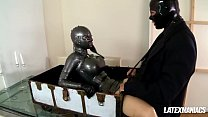 Latex Goddess Latex Lucy gets Boxed & Fucked Hard preview image