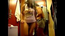 xxx pornสาวร่านโดนแฟนหนุ่มตั้งกล้องถ่ายตอนเย็ดกันในห้องเปลี่ยนเสื้อผ้า