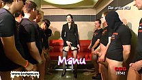 Nerdy Librarian Manu huge gangbang - German Goo Girls! thumbnail