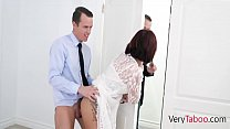 OH MY! My British Mom agrees to fuck me after h...