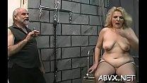 Naked chicks roughly playing in servitude xxx amateur video Vorschaubild