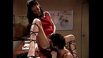 Beautiful receptionist in lace up shoes Liza Ha... thumb