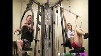 Horny gym babe Bailey Blue seduces her fitness trainor into fucking her pornhub video