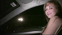 Hot blonde teen chick Alexis Crystal PUBLIC org...