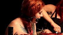 Redhead bdsm lesbian sub spanked