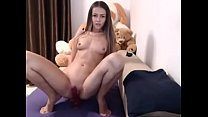 Horny college teen dildo fuck pussy - watch live at www.RoxiCams.com