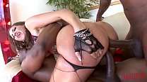 KELLY DIVINE GETS DESTROYED IN ROUGH INTERRACIAL ANAL FUCK FEST Thumbnail