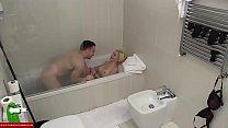 A blonde wants cock in the bathtub CRI007 thumbnail