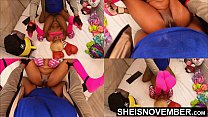 Missionary Hardcore Sex Fucking Sexy Black Babe Pussy Closeup POV Big Titties Held, Msnovember Intense Fuck By Old BBC Pushing Her Tiny Legs Up With Multi View Dominating Her Little Body 4k Sheisnovember صورة