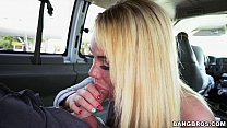 Skyla Novea gets the ride of her life on the BangBus (bb15020) preview image