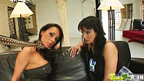 Tamed Teens Hot teen duo gets smashed in the pu...