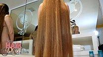 nude busty blonde longhair milf leona forward shampoo preview image