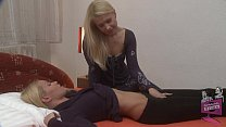 Brandy Smile and Sophie Moone Lesbian Fun's Thumb