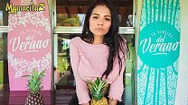 MAMACITAZ - Que Delicia!!! This Sweet Teen Latina Barely Can Handle Logan Salamanca's Cock - Mila Garcia