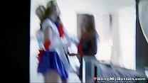 Hot Teen Cosplay Queens Share Cock In FFFM Foursome » bangbros sex videos thumbnail