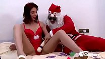 Kimber Delice Gets Some Christmas Cock