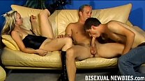 Go with the flow and join our bisexual threesome pornhub video