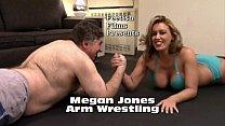 Megan Jones Vs Frank Arm Wrestling Match