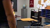 Image: InnocentHigh Halloween Special: Sexy blonde Jess Rhodes fucked in the dark