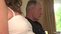 Big Cock Grandpa Fucks Tiny Pussy Teen Girlfriend Open Mouth Cumshot